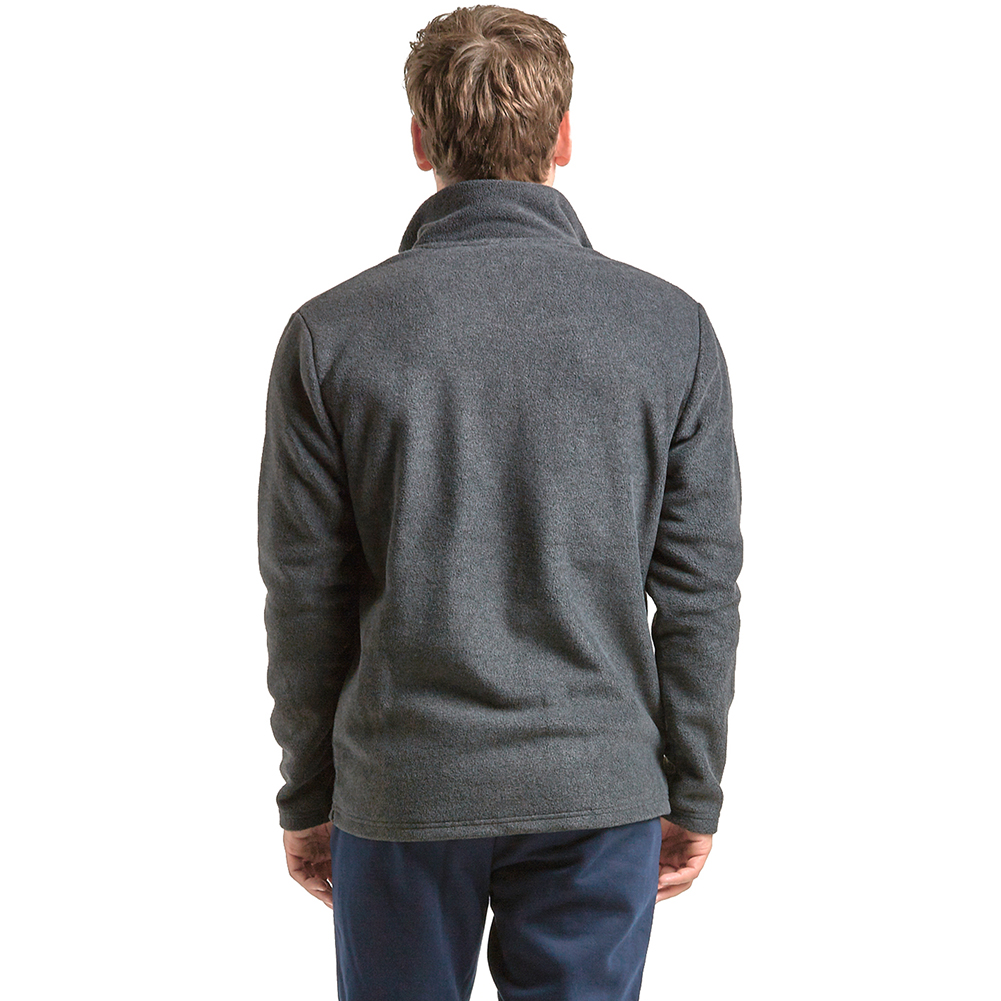 Mens Polar Fleece Long Sleeve Full Zipper Zip Up Jacket