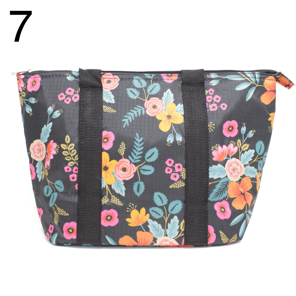 Lunch Bag Thermal Insulated Food Cooler School Work Travel