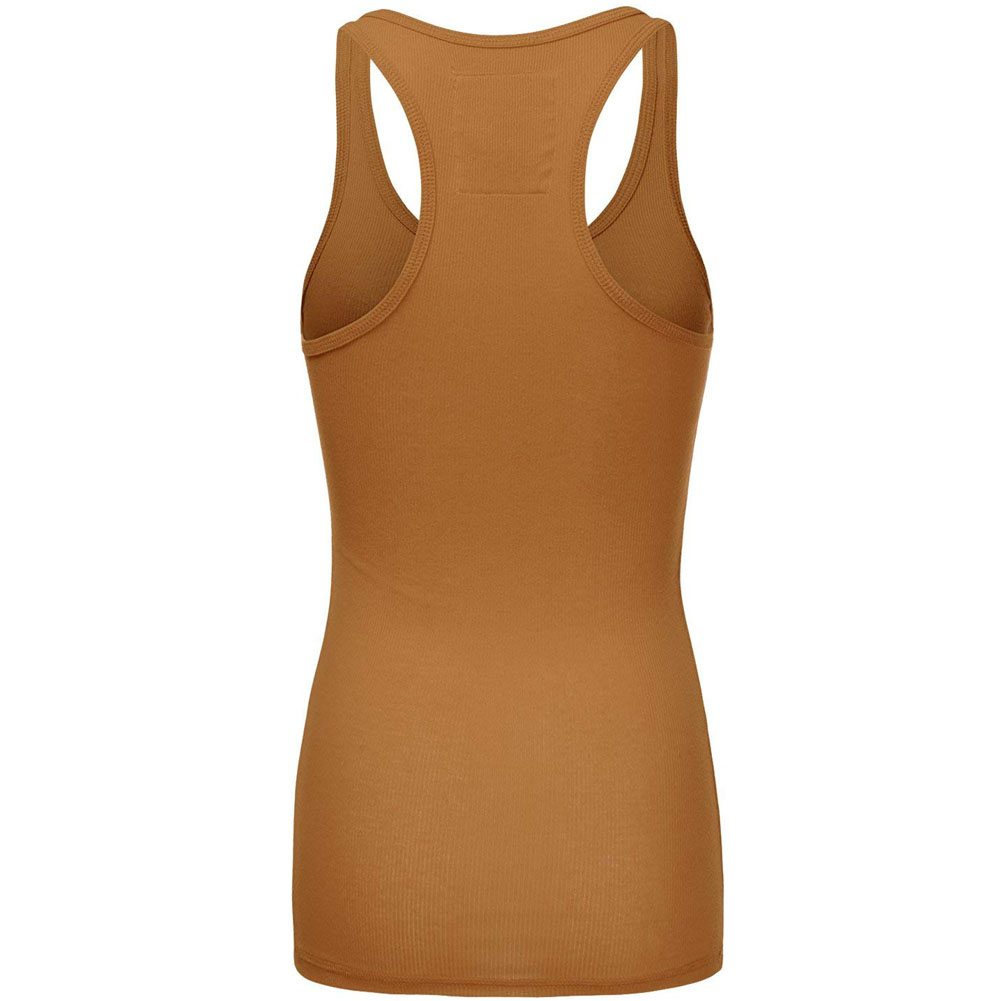 Womens-Racerback-Tank-Top-Ribbed-Athletic-Summer-Basic-Plus-S-M-L thumbnail 7