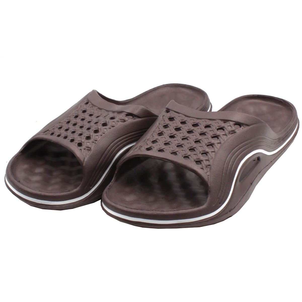 92924415e Womens Cushion Slip On Sandals Slides House Shoes Flip Flop Water ...
