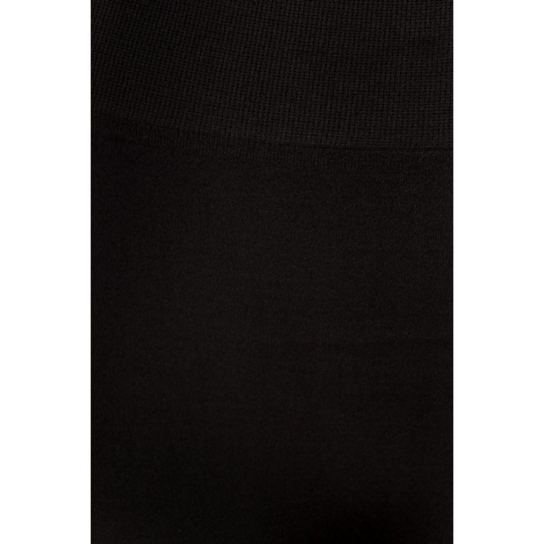 miniature 5 - Femmes Grande Taille Capri Leggings Court Stretch Pantalon Basique Solide Pour