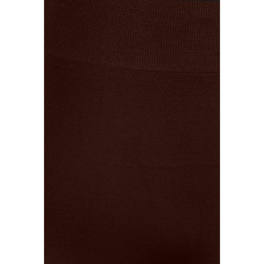 miniature 10 - Femmes Grande Taille Capri Leggings Court Stretch Pantalon Basique Solide Pour