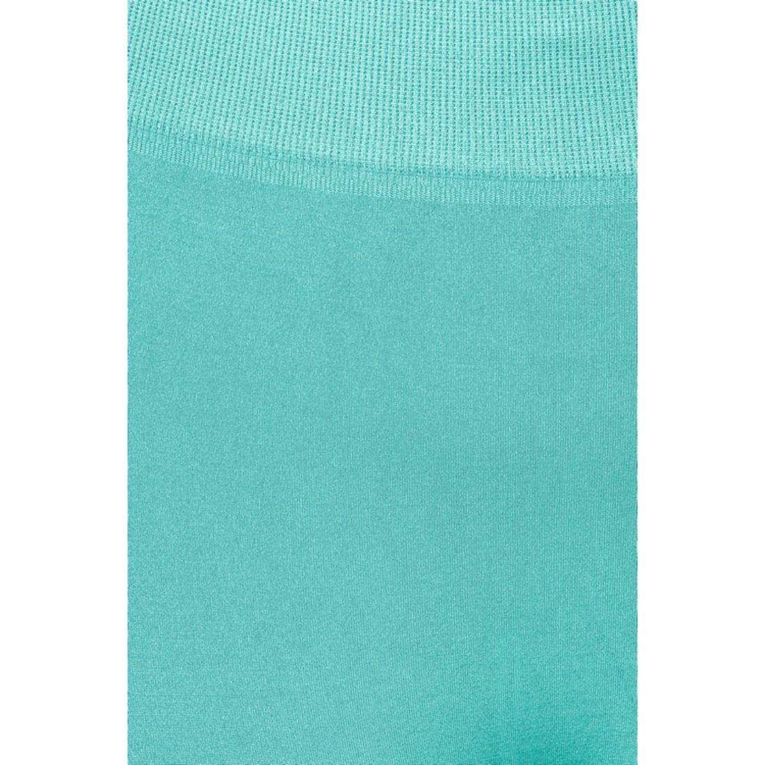 miniature 43 - Femmes Grande Taille Capri Leggings Court Stretch Pantalon Basique Solide Pour
