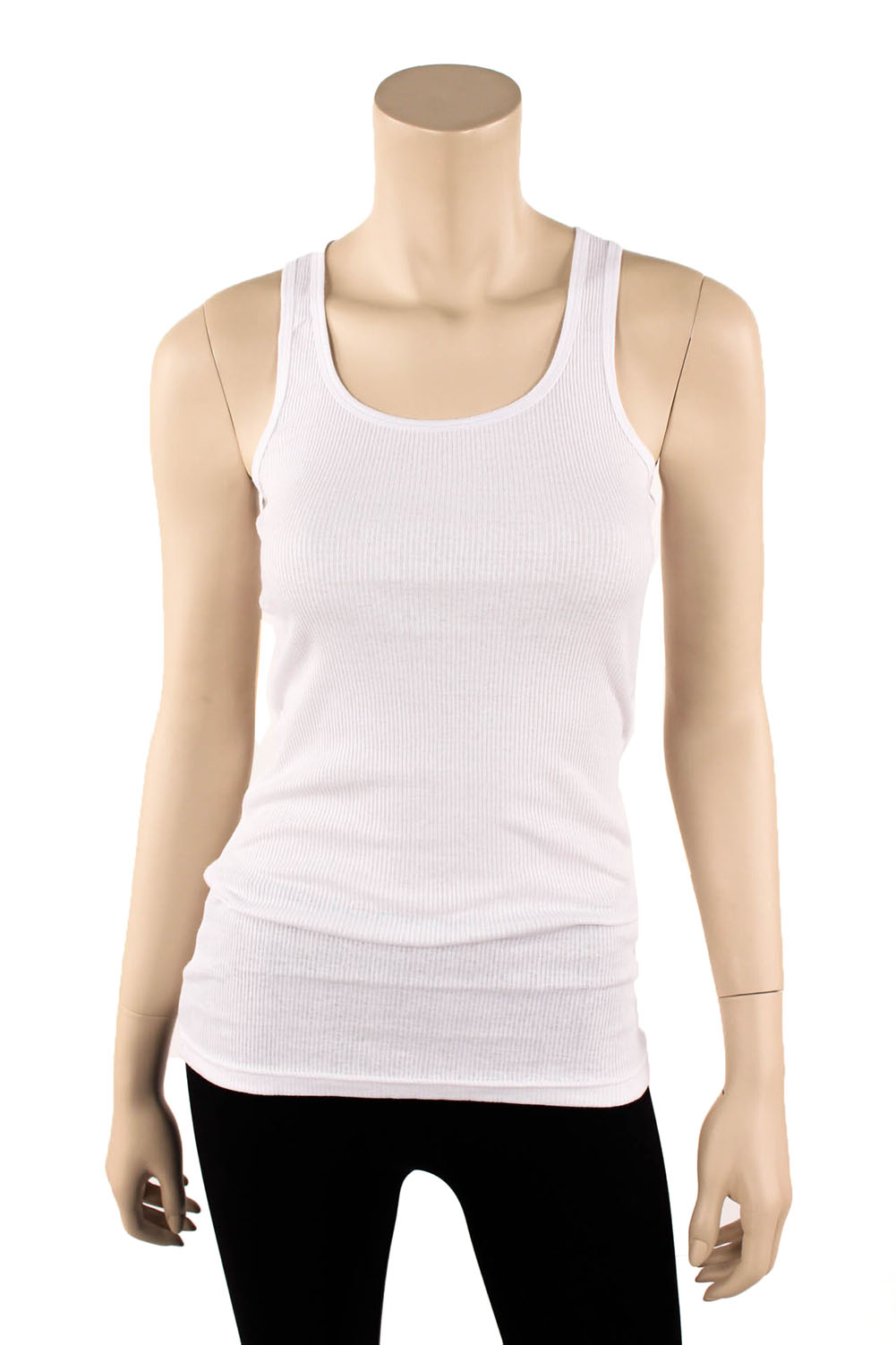 Womens tank top 100 cotton heavy weight ribbed a shirt for How to make money selling custom t shirts