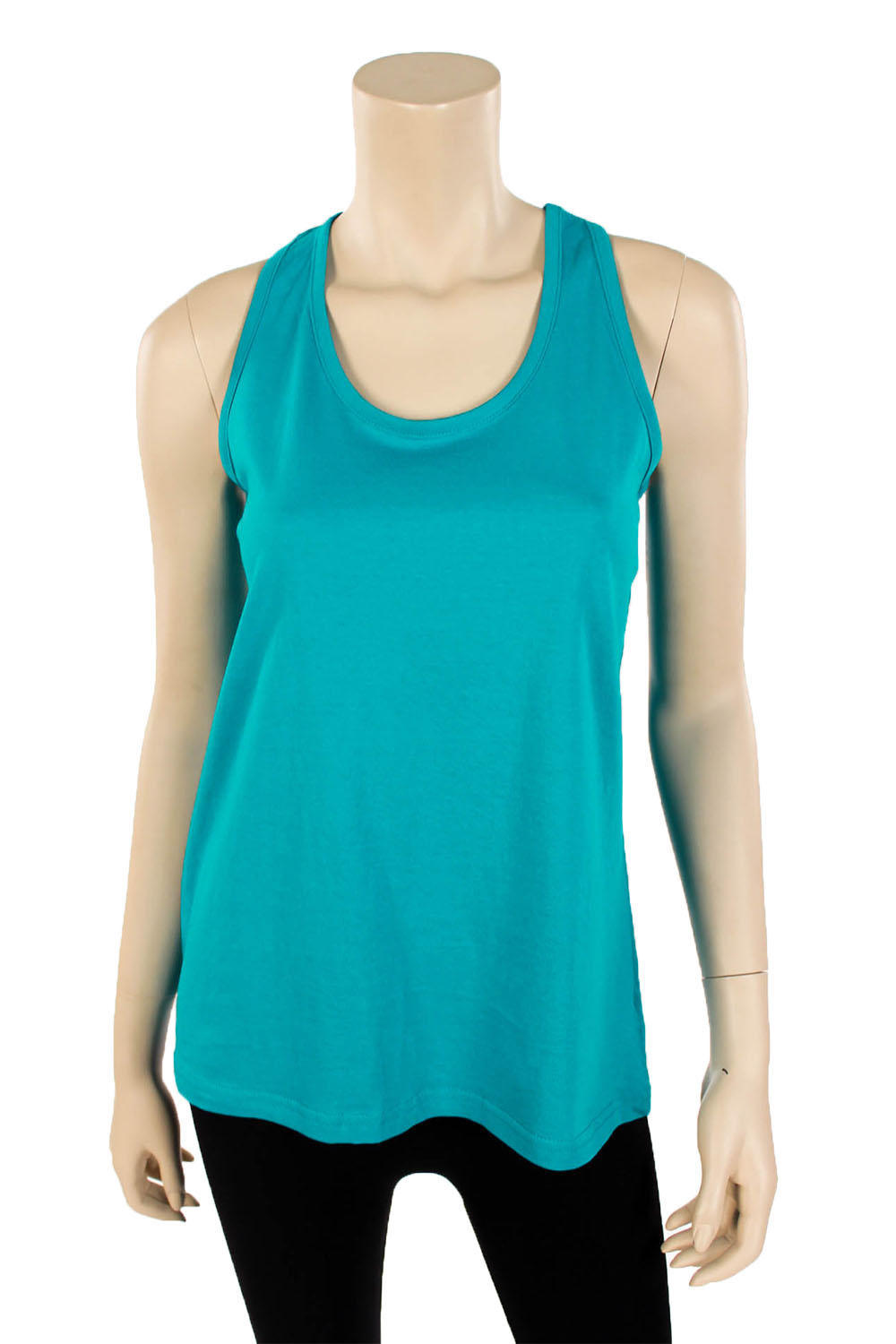 Womens Loose Fit Racerback Tank Top Relaxed Flowy Cotton