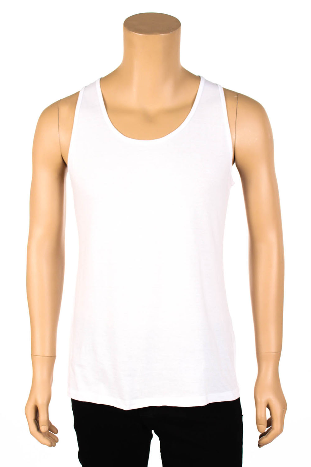 Men loose fit tank top sleeveless shirt singlet workout for Best work out shirts