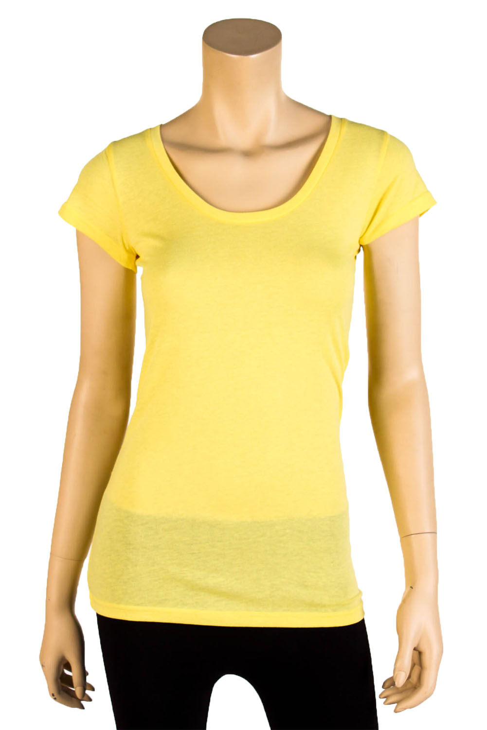 Womens basic tee t shirt short sleeve round crew neck for Round neck t shirts for ladies
