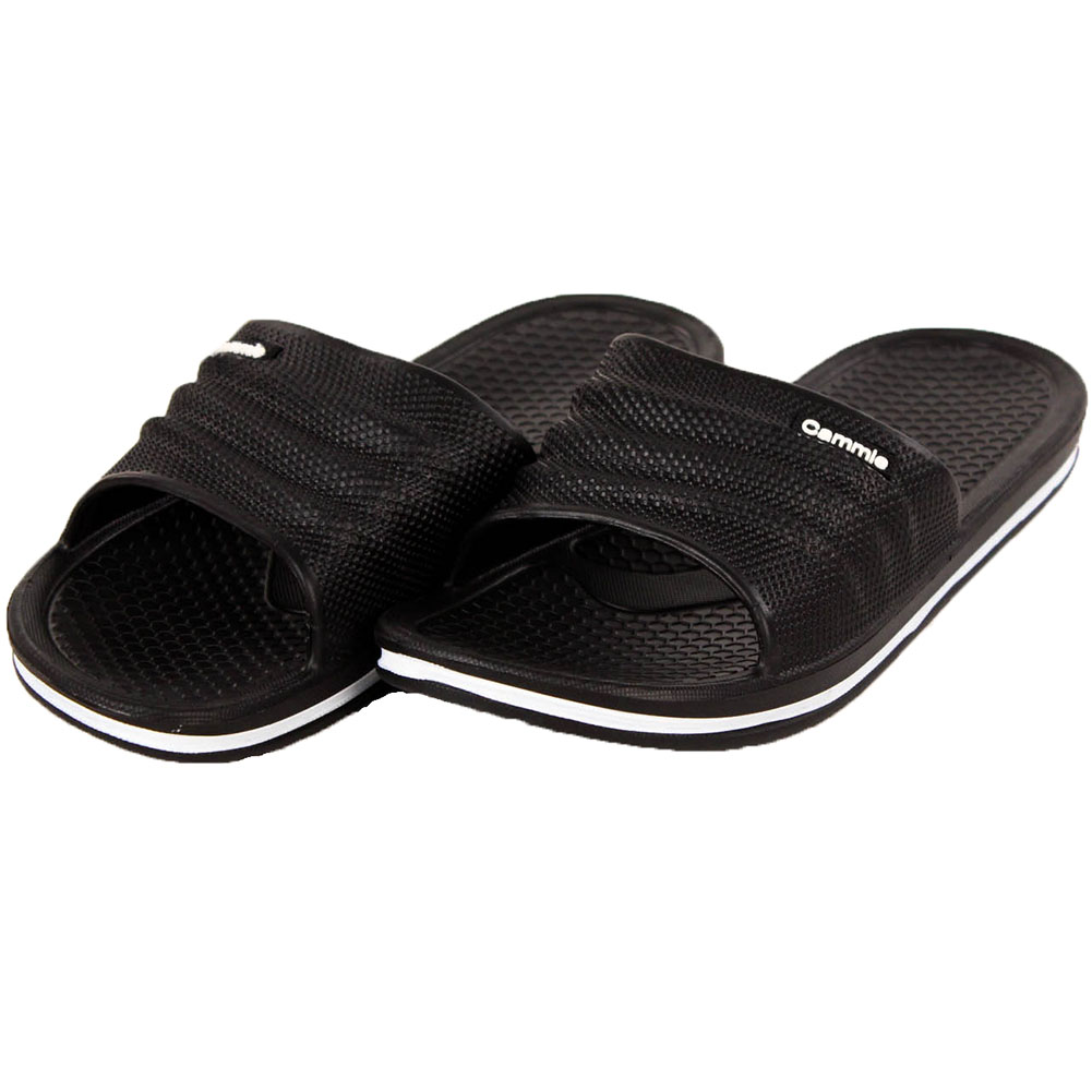 Womens slip on sport sandals slides comfort house shoes for Comfort house