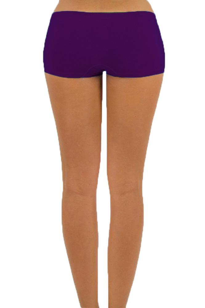 Womens-Seamless-Stretch-Shorts-Spandex-Workout-Mini-Safety-Bike-Dance-OS-S-M-L 縮圖 20