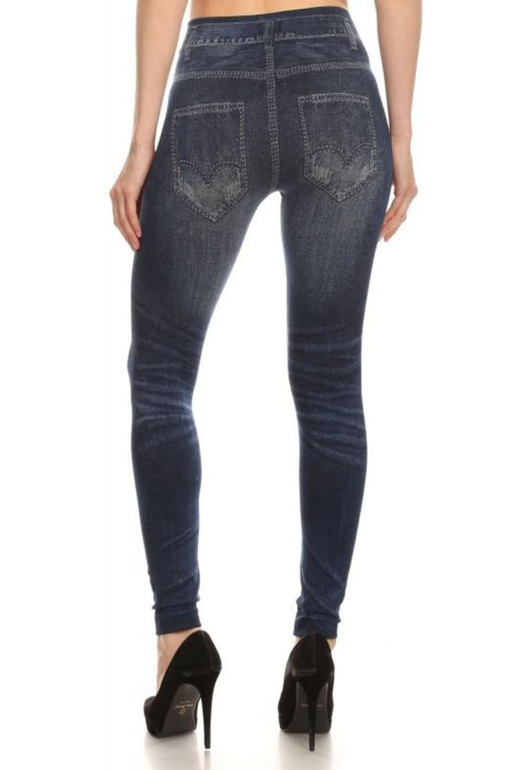 Stretch pants that look like jeans