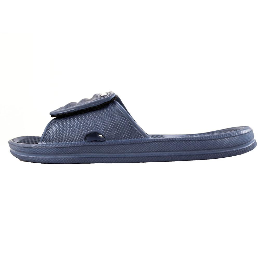 mens slip on sandals hook loop closure sport shower